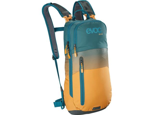 EVOC CC Lite Performance Backpack 6l, petrol/loam